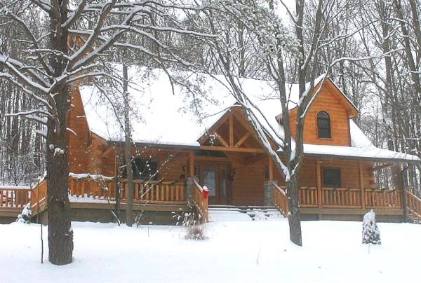 Snow Cabin Pictures Log Cabin in The Snow w/